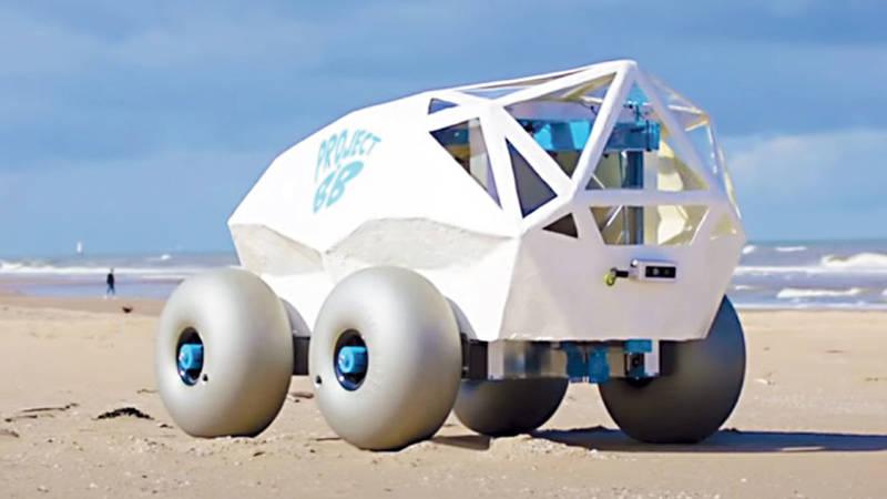 روبوت» ينظف الشواطئ | صحيفة الخليج