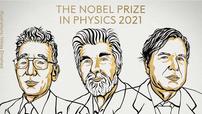 الفائزون بجائزة 2021 للفيزياء