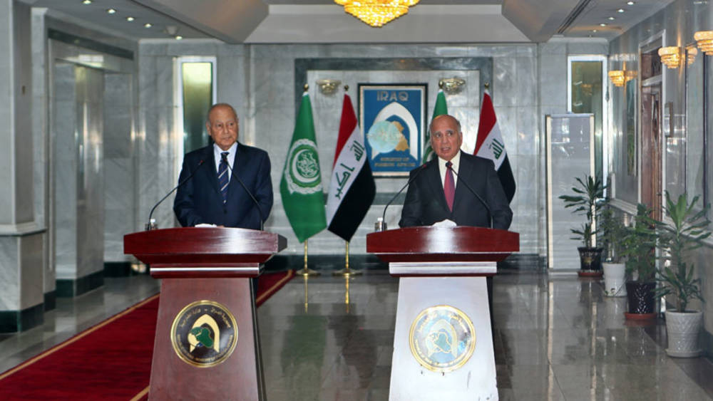 Al-Kazemi confirms Iraq's support for the return of Syria to the Arab League 1702_2