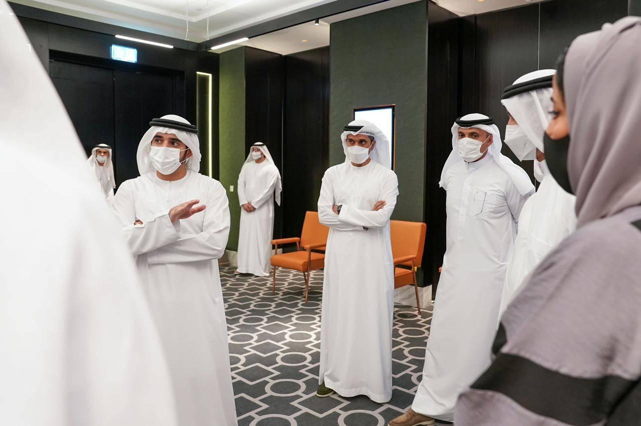 حمدان بن محمد يوجه بوضع خطط تضمن استضافة آمنة لزوار اكسبو 2020