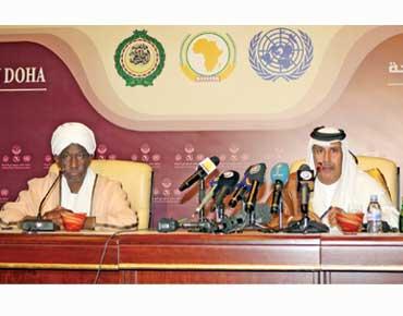 اتفاق إطار ثانٍ ووثيقتان لوقف النار في دارفور