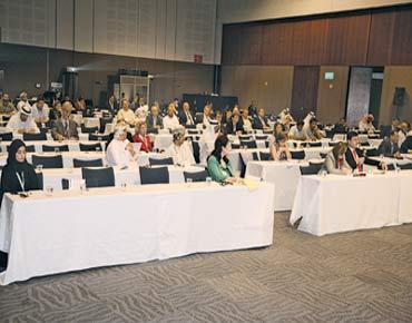 """خلال جلسات مؤتمر """"ديهاد"""" للإغاثة 91948.jpg"""
