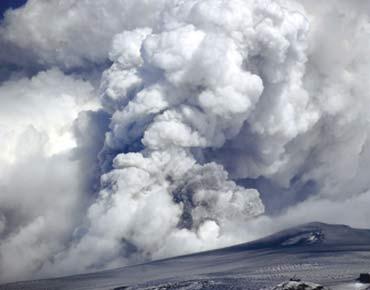 السحابه البركانيه