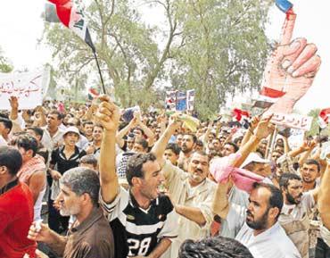 مظاهرات في العراق احتجاجا على قطوعات الكهرباء