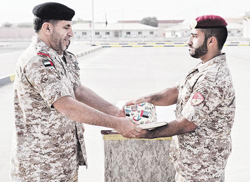 شهد اللواء الركن سالم علي سالم الغفلي