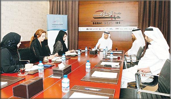 نتيجة بحث الصور عن مؤسسة دبي للإعلام