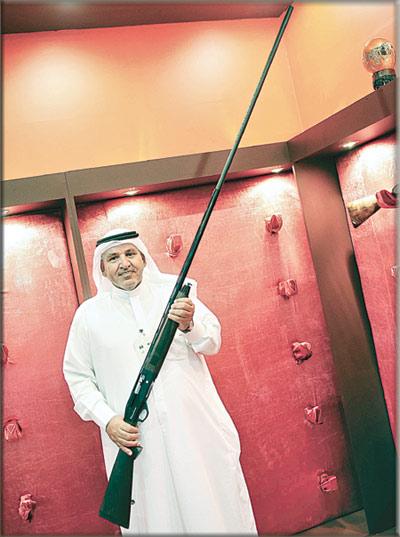 أطول بندقية صيد في العالم