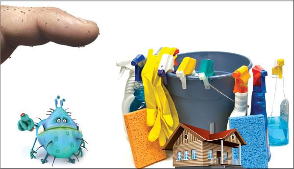 أين تختبئ الجراثيم في منزلك؟